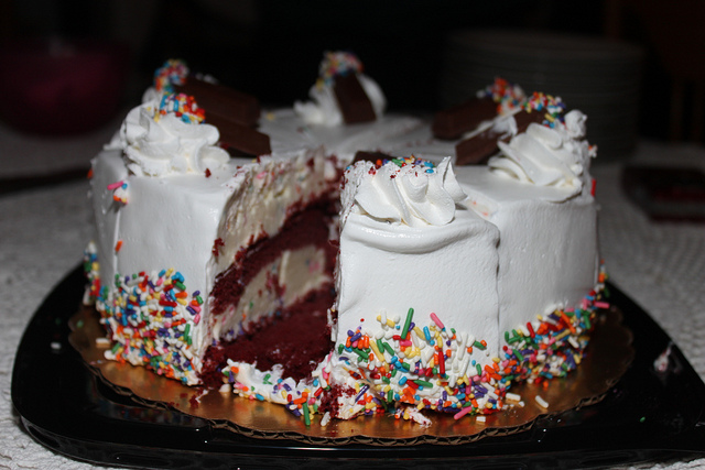 Coldstone Ice Cream Cake