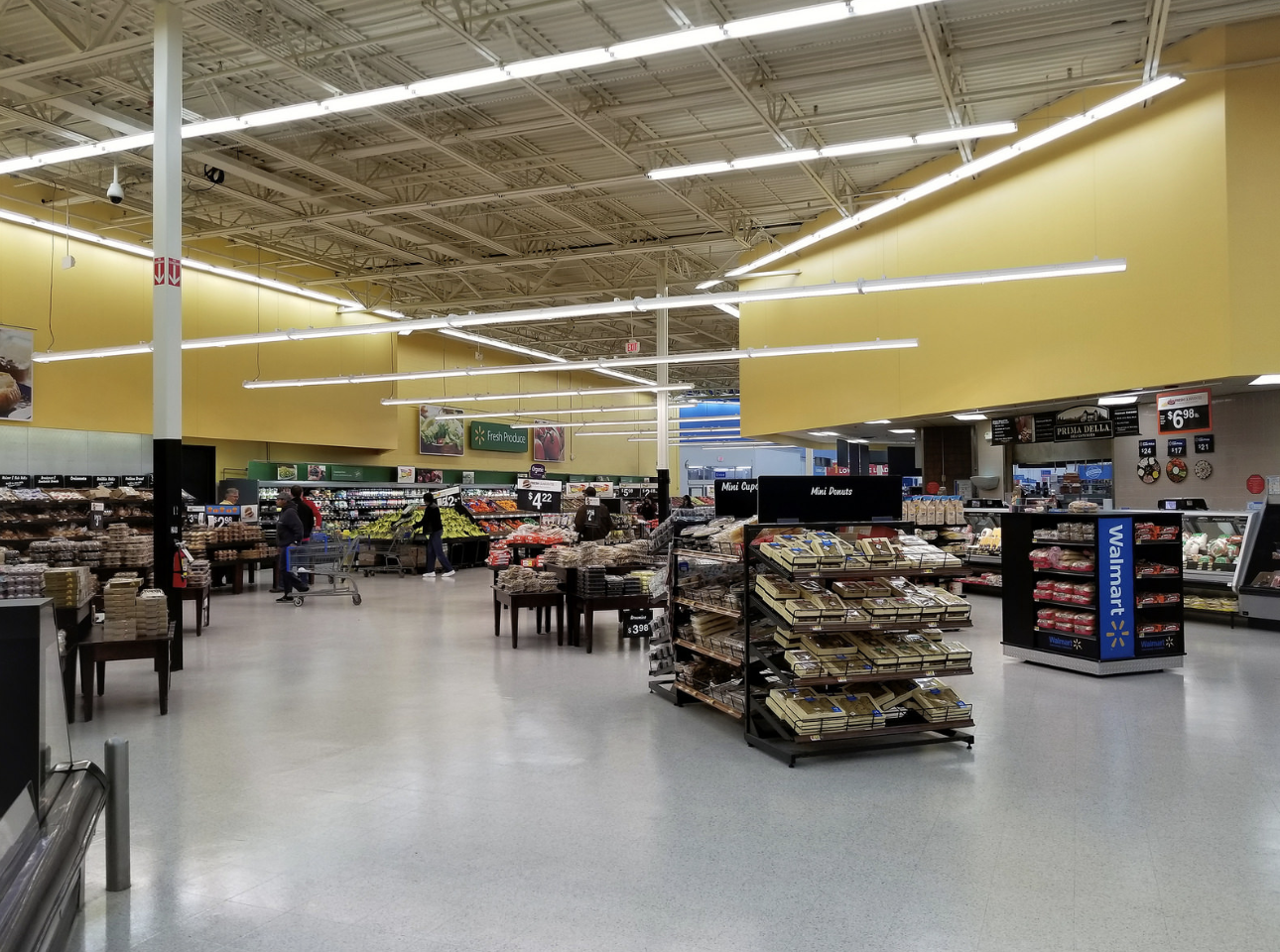 grocery area