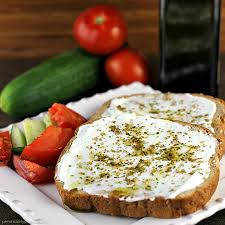 Labneh and Zatar Toast