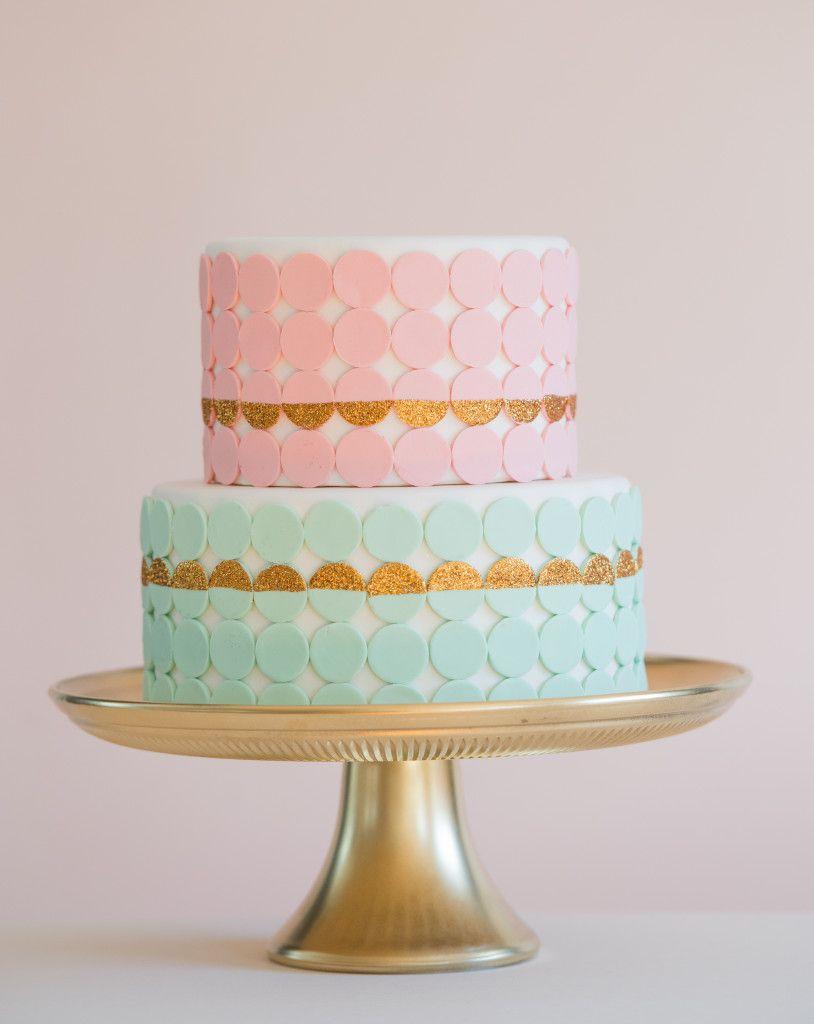 Necco Wafer Bridal Shower Cake