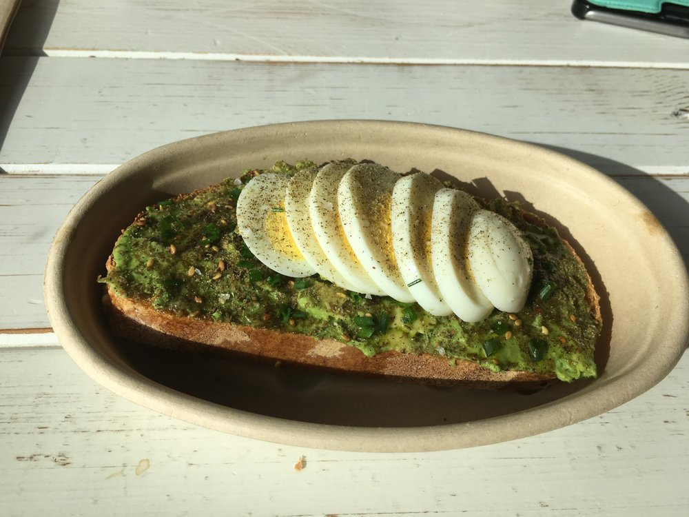Mediterranean Avocado and Egg Toast