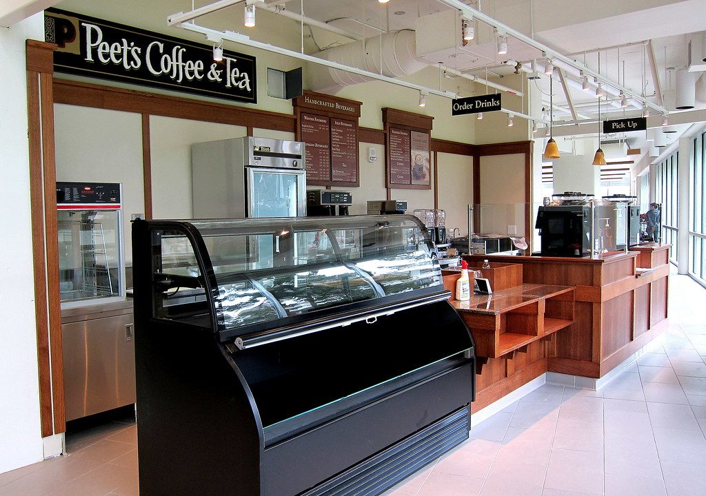 peets coffee shop