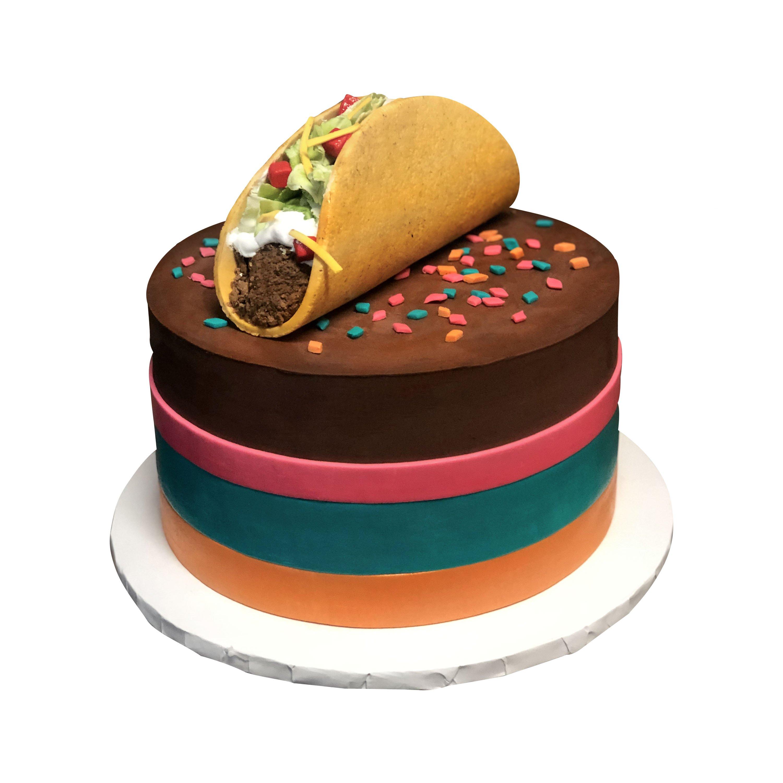 Taco Fiesta 3D Cake